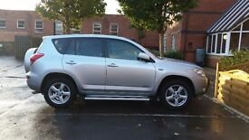 silver rav4 56 plate low mileage..excellent car
