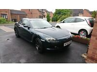 Mazda Rx8 231 low mileage with sun roof and nav nice example