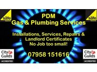 Gas Appliance Installation, Service & Landlord Gas Certificates offered at competitive rates