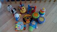 toys vtech, fisher price, playschool, for sale.