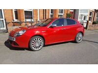 2011 Beautiful red Alfa Romeo Giulietta Veloce 2.0 JTDi Diesel, £30 year road tax
