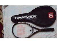 Wilson Hammer Carbon Matrix tennis racquet
