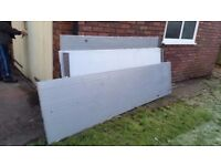 THICK PLASTIC SHEETS (V.GOOD CONDITION & V LOW PRICE ) - Sizes in Description