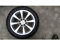 "4 x 15"" Diameter Alloy Wheels 4x100 & 4x108 with Tyres 195/50/15"