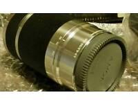 SONY INTERCHANGEABLE LENS E55-210mm