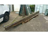 solid oak beam's