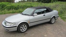 Saab 9-3 2.0 LPT SE Convertible 55060 miles