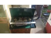 Tilley twin camping stove and grill