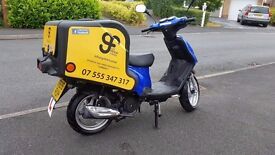 BARGAIN PRICE!! Excellent condition - only 85 miles on clock - lots of storage - AS GOOD AS BRND NEW