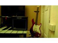 BARGAIN!! Cort Guitar with Kustom Amp