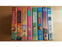 8 VHS Video Tapes Kids Childrens Films Disney & DreamWorks inc The Lion King & Toy Story