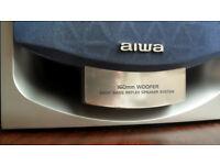 Aiwa SX-NSZ502 3 way Bass Reflex Hifi Speakers