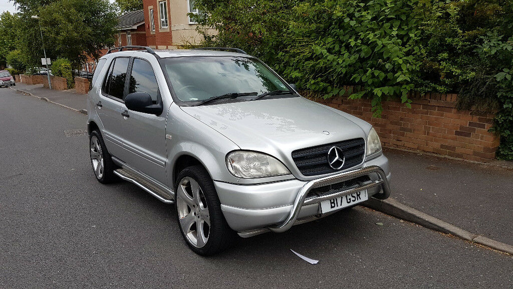 2000 mercedes benz ml 320 3 2 automatic lpg gas bi fuel 4x4 suv in handsworth west midlands. Black Bedroom Furniture Sets. Home Design Ideas