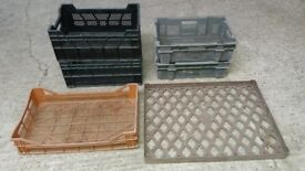 Mesh Stacking Crates / Plant carry trays / Seed Trays