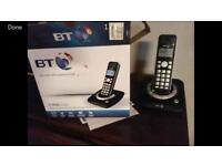 BT land line wireless answering machine phone