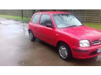 2000 Micra with a genuine 50000 miles, power steering