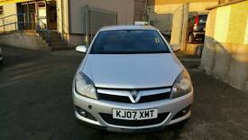 FOR SALE VAUXHALL ASTRA SRI 1900 CDTI (150 )DIESEL 07 PLATE LOW MILEAGE SILVER