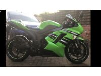 Kawasaki zx6r 600cc supersport