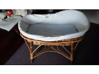 Moses basket-perfect condition
