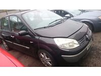 2004 RENAULT SCENIC, 1.5 DIESEL, BREAKING FOR PARTS ONLY, POSTAGE AVAILABLE NATIONWIDE