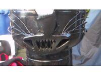 handmade cat/wood burner