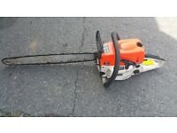 STINL CHAINSAW KW 6500S FOR SPARES OR REPAIRS