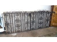 Wrought Iron Gates - pair and two single