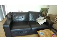 Next Leather couch. Good condition