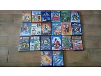 20 kids DVD BUNDLE (£10 FOR ALL DVDS)