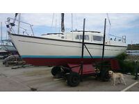 LEISURE 23 BILGE KEEL 4 STROKE YAMAHA REDUCED £3750