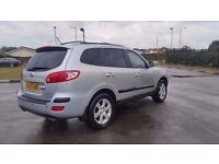 2008 HYUNDAI SANTA FE DIESEL AUTOMATIC IN TOP CONDITION. LONG MOT. CAMBELT CHANGED @ 99000 MILES