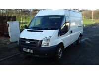 transit van front wheel drive top spec