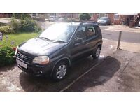Suzuki Ignis 1.3 MOT Mar 18, 2 owners. Low Miles for age. PSH. CD. Well looked after, great cond.