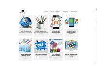 Web hosting, web design, Android, iOS Apps, SEO, Digital Marketing