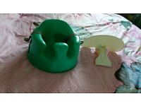 Bumbo seat and tray