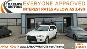 2011 Mitsubishi Outlander LS*EVERYONE APPROVED*APPLY NOW DRIVE N