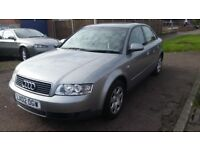 Audi a4 automatic 2lt patrol 5-door 80k full service history with mot