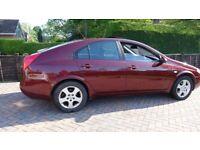 Nissan, PRIMERA, Hatchback, 2003, Manual, 1769 (cc), 5 doors