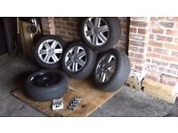 renault megane/ scenic 16 inch alloys and tyres