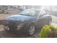 AUDI TT QUATTRO SPORT ( 180 ) COUPE BLACK ( 6 ) SPEED GEAR