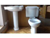 toilet and sink for sale