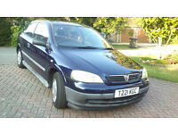 Vauxhall Astra Envy, Hatchback,Automatic, Very low mileage, two careful lady owners.