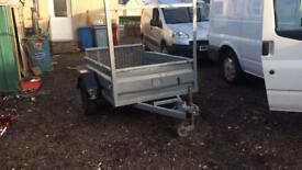 6x4 steel trailer