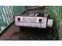 Small trailer (spares or repairs)