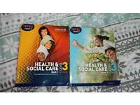 Level 3 health and social care books 1 & 2