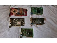 Old Graphics Cards - untested