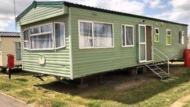 Static Caravan Steeple Bay 3 bed 8 berth Cosalt Baysdale 2005.