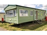 Static Caravan Steeple Bay 3 bed 8 berth Cosalt Baysdale 2005.