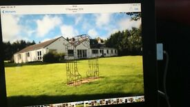 House to rent, Aberdeen, 2 acres 5/6 beds