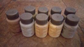 Laura Ashley Paint Sample Pots x 9 - £3